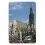 La catedral de St Stephen, Viena Austria Imanes