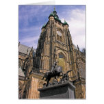 La catedral de Vitus del santo, Praga (6) Tarjeta