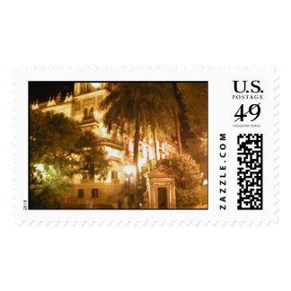 La Catedral en Sevilla Stamp