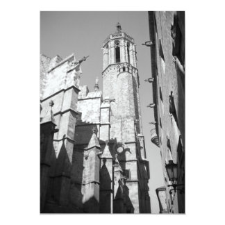 La Catedral Gargoyle Invitation (Barcelona, Spain)