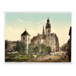 La catedral, Kaschau, ra de Hungría, Austro-Hungrí Postales