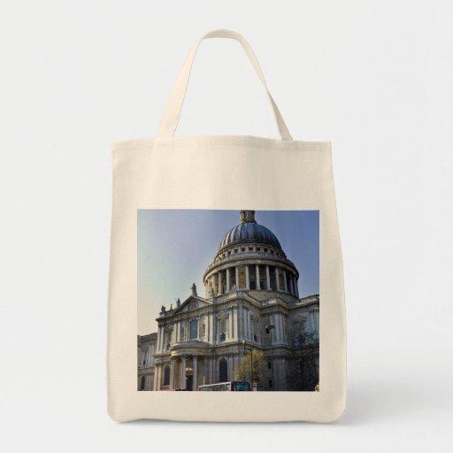 La catedral Londres de San Pablo Bolsa Tela Para La Compra