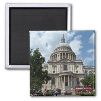 La catedral Londres de San Pablo Imanes De Nevera