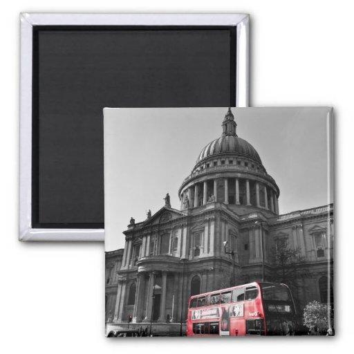La catedral Londres de San Pablo Imán Para Frigorifico