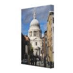 La catedral Londres de San Pablo Impresiones En Lienzo Estiradas