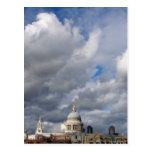 La catedral Londres de San Pablo Postal