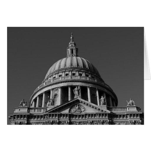 La catedral Londres de San Pablo Tarjeta De Felicitación