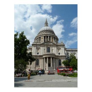 La catedral Londres de San Pablo Postales