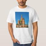 La catedral Moscú Rusia de la albahaca del santo Playeras