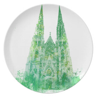 La catedral Nueva York de San Patricio Plato