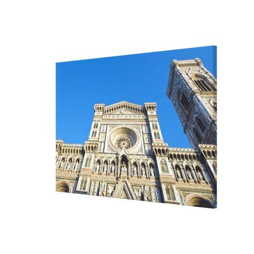 La catedral Santa María del Fiore, Firenze, Impresiones En Lona Estiradas