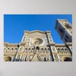 La catedral Santa María del Fiore, Firenze, Poster
