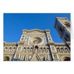 La catedral Santa María del Fiore, Firenze, Felicitación
