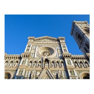 La catedral Santa María del Fiore, Firenze, Tarjetas Postales