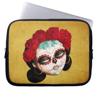 La Catrina - Dia de Los Muertos Girl Computer Sleeves