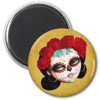 La Catrina - Dia de Los Muertos Girl Magnet