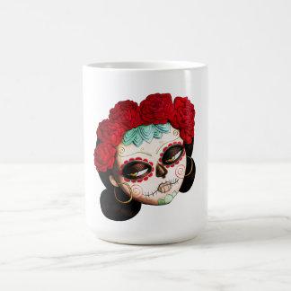 La Catrina - Dia de Los Muertos Girl Classic White Coffee Mug