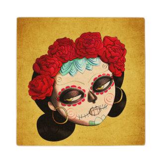 La Catrina - Dia de Los Muertos Girl Posavasos De Arce