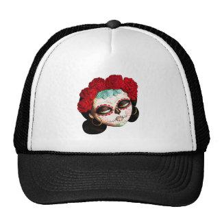 La Catrina - Dia de Los Muertos Girl Trucker Hat