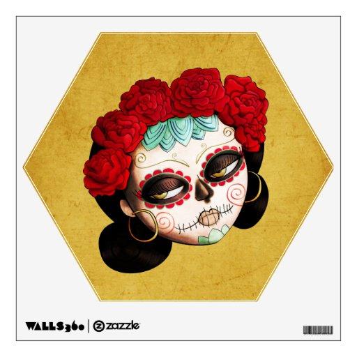 La Catrina - Dia de Los Muertos Girl Wall Decal