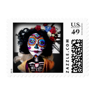 La Catrina Invokes the Spirits of the Ancestors Postage Stamps