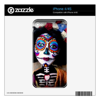 La Catrina Invokes the Spirits of the Ancestors Skins For iPhone 4