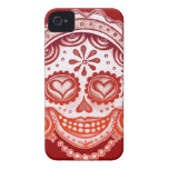 La Catrina Skull Art iPhone 4/4S Barely There Case iPhone 4 Case-Mate Case