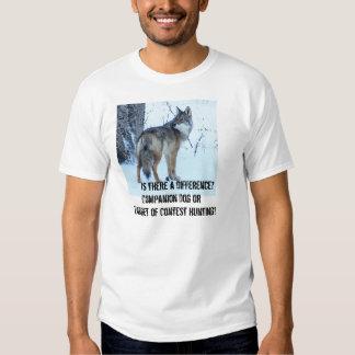 La caza de la competencia del coyote debe ser playera