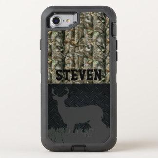 La caza de los ciervos de Camo personalizó la caja Funda OtterBox Defender Para iPhone 7