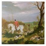 La caza de Suffolk - yendo a cubrir cerca de Herri Teja Ceramica