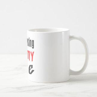 La CAZA de ZORRO es mi vida Tazas De Café
