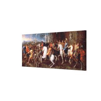 La caza del verraco de Calydonian, 1637-38 Lienzo Envuelto Para Galerías