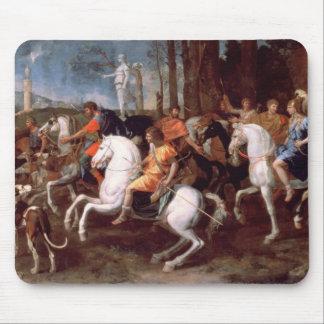 La caza del verraco de Calydonian, 1637-38 Mouse Pads