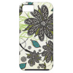 """La """"cebra florece"""" iPhone iPhone 5 Carcasas"""