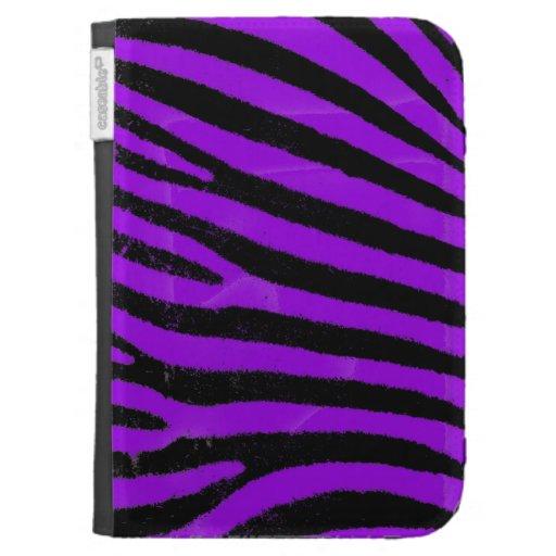 La cebra púrpura enciende la caja