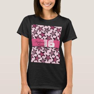 La cebra rosada protagoniza el dulce camiseta de