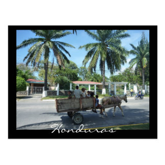 la ceiba transport postcard