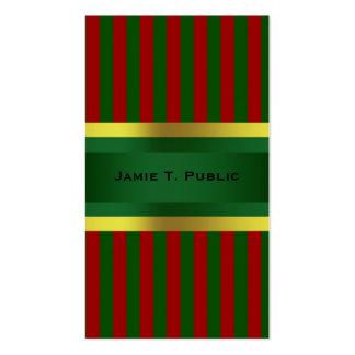 La celebración de días festivos del navidad invita tarjetas de visita