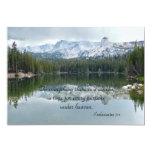 La celebración de la vida todo allí es estación invitación 12,7 x 17,8 cm