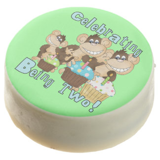 La celebración del 2do cumpleaños de los monos