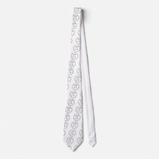 la celebración del día del pi es diversión corbata personalizada