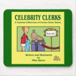 La celebridad Clerks la cubierta de libro Tapetes De Ratones