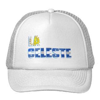 La Celeste Uruguay soccer football gear Trucker Hat
