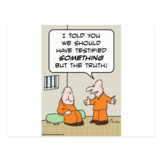 la célula de los presos atestigua solamente la tarjetas postales