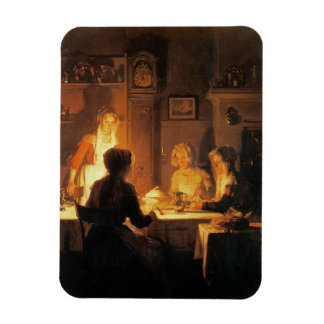 La cena, c.1900 (aceite en lona) iman