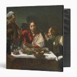 La cena en Emmaus, 1601 (aceite y tempera)