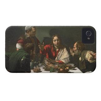 La cena en Emmaus, 1601 (aceite y tempera) Carcasa Para iPhone 4