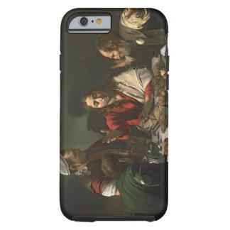 La cena en Emmaus, 1601 (aceite y tempera) Funda De iPhone 6 Tough