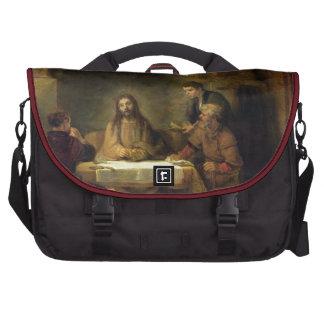 La cena en Emmaus, 1648 (aceite en el panel) Bolsas De Portatil