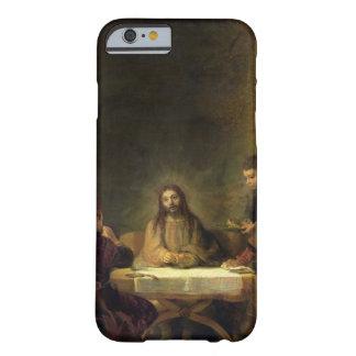 La cena en Emmaus, 1648 (aceite en el panel) Funda Barely There iPhone 6